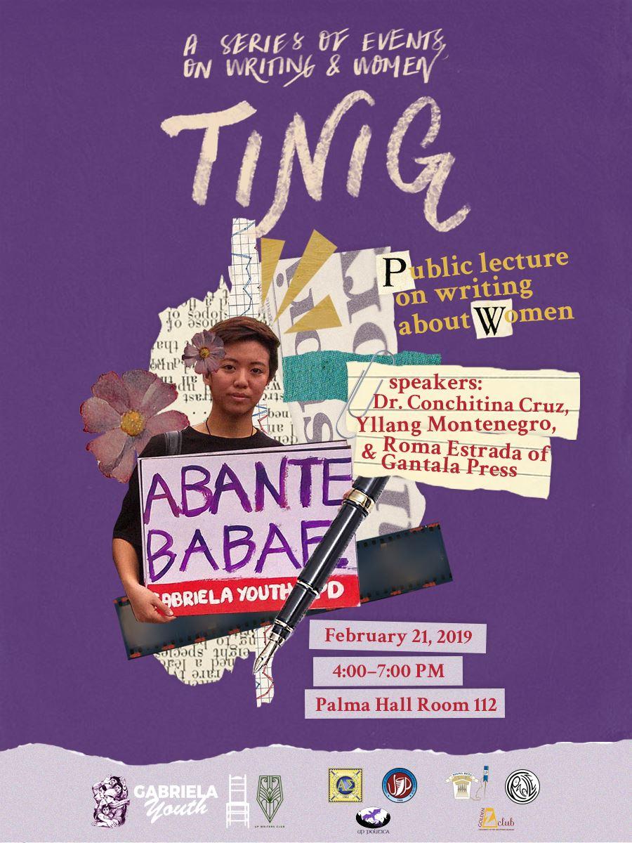 TINIG poster - Gabriela Youth-UPD