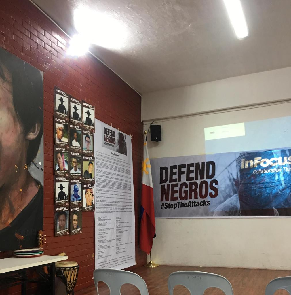Defend Negros Launch